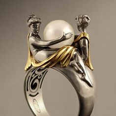 This is a beautiful ring! Art Nouveau