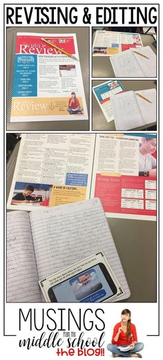 Each article in this newsletter is a stand-alone mini-lesson for middle school writers.