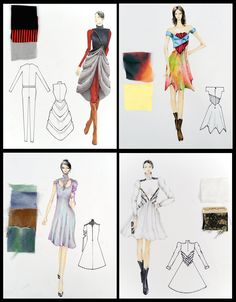 30 Best Student Fashion Design Portfolio Work Images Fashion Design Portfolio Student Fashion Fashion Design