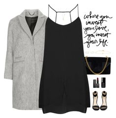 Untitled #4139 by somethinglikelove on Polyvore featuring mode, Topshop, Rihanna For River Island, Yves Saint Laurent, Sachi, Gabriela Artigas, Jennifer Meyer Jewelry, NARS Cosmetics and Chanel
