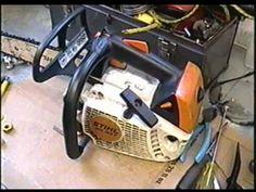 Stihl MS192T Chainsaw Repair