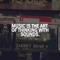 pensar con sonidos. Musica