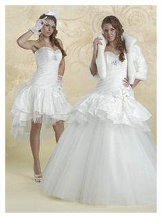 Fotos de vestidos de novia desmontable