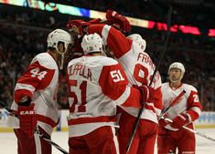 Winning is best but  I've always loved my Wings since Gordy Howe was playing and the TV was in black and white.