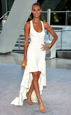 Joan Smalls in Michael Kors at 2012 CFDA Fashion Awards at Alice Tully Hall in New York City