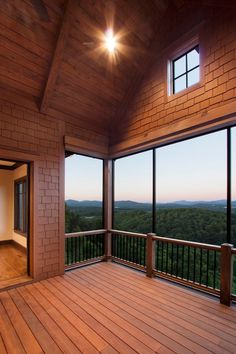 'Ridgepine Lodge, Cliffs at Walnut Cove.' Morgan-Keefe Builders, Arden, NC. Architect Kevin Culhan. J. Weiland photo.