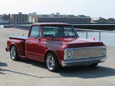 1970 Chevrolet C10 Stepside (Custom) '98 668 X' '98 668 X' 3 by Jack Snell -Thanks For 10 million views!, via Flickr