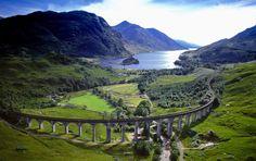 19-Century Highland Railway, Scotland Photography By: Jason Hawkes