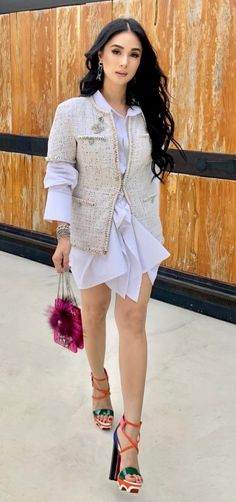 Heart Evangelista Style, Classy Fashion, High Fashion, Beautiful Figure, Europe Fashion, Elegant Outfit, Classy And Fabulous, Asian Style, Everyday Outfits