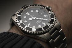 A wrist-shot of my Steinhart Ocean One. (c) Plamen Velev, Copyright protected.