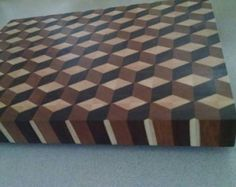 End grain cutting board by WhiterunWoodshop on Etsy