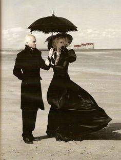 Karl Lagerfeld / Vogue Germany October 2007.