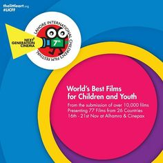 Bring the world home  7th Lahore Children's Film Festival 2015  For details WWW.thelittleart.org  #TLAORG #LICFF #LICFF15 #LAHORE #CHILDREN #YOUTH #EDUCATIN #ENTERTAIN #INSPIRE #EDUCATE