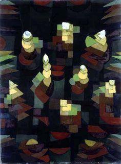 Paul Klee - Pflanzenwachstum 1921