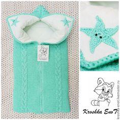 Конверты для новорожденного вязание