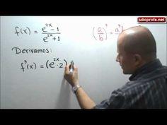 Derivada de una función que contiene el número de Euler: Julio Rios explica cómo derivar una función que contiene el número de Euler