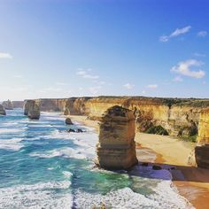Great Ocean Road The 12 Apostles #the12apostles #greatoceanroad #twelveapostles #travelgram #instatravel  #travel #holiday #adventure #oz #rocks #paris_to_tokyo #joshanidas #instadaily #instagood #photooftheday #2015 #tb  #travelingourplanet #roamingon #beautifuldestinations #wonderful_places #photography #australia #roadtrip #ocean #sea #water #thenakedtraveller by paris_to_tokyo