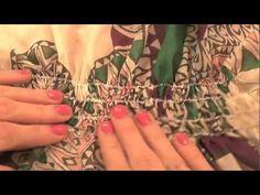 burda style: Gummismok nähen  – Video: burda style/Lena Klippel