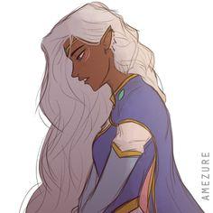 Princess Allura from Voltron Legendary Defender She's so pretty