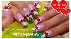 floral-french-tip-nail-art-black-and-white-nails-net-nail-design_901646.jpg (320×180)