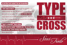 Type and Cross by @stacitroilo is FREE for a limited time. (I can't put it down!)