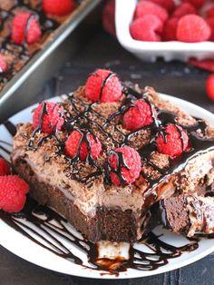 Chocolate Baileys Poke Cake | 12 Irish Cream Spiked Desserts That Are Better Than Sex