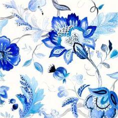 Capri Floral II Canvas Art - Lanie Loreth (24 x 24)