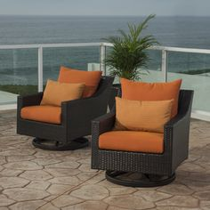 Shop for RST Brands Deco Motion Club Chairs in Tikka Orange . Get free delivery at Overstock.com - Your Online Garden