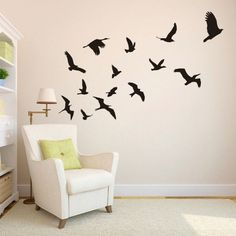 Resultado de imagem para passarinhos parede tok stok