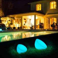 Spot LED Indoor/Outdoor Lamp – The Caveman's Guide Lighting System, Cool Lighting, Outdoor Areas, Indoor Outdoor, Led Röhren, Lamp Cover, Luminous Colours, Hotels, Light Decorations