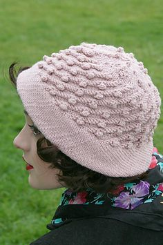 Ravelry: Bobble Topper pattern by Susan Crawford