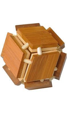 "Fridolin Bamboo IQ-Test Puzzle, ""Magic Box"" Best Price"