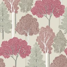 Add a modern touch to your walls with this trees inspired funky and contemporary wallpaper design, finished with encased glitter technique.