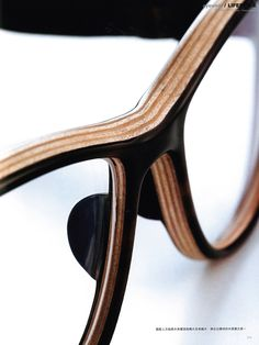 ROLF Spectacles - finest horn eyewear - asia fitting - horn nose pads #eyewear deluxe