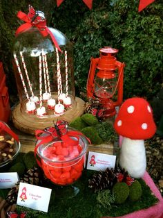 Into The Woods/Woodland/Red Riding Hood Birthday Party Ideas | Photo 11 of 24…