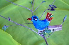 Kroužkuj doma: Jarní ozdoby do květináče – Helceletka Parrot, Bird, Animals, Parrot Bird, Animales, Animaux, Birds, Animal, Animais