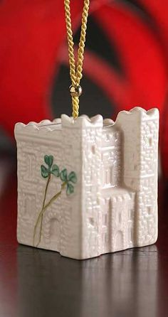 Belleek 4237 Ardee Castle Ornament 18Inch White >>> To view further for this item, visit the image link.