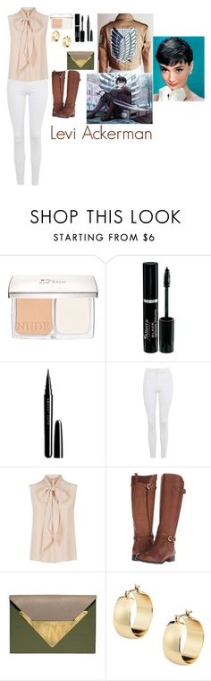 """""""Levi Ackerman"""" by charbear231 ❤ liked on Polyvore featuring Christian Dior, Marc Jacobs, Topshop, MaxMara, Naturalizer and Dareen Hakim"""