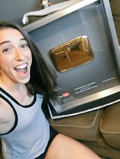 Gold Play Button, Rachel Ballinger, I Got This, Youtubers, Families, Channel, Celebrity, Celebs, Youtube