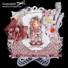 Gina's Cards: Magnolia 'Summer Wedding Tilda'