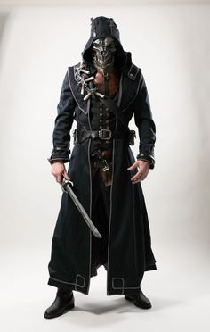 A Great Cosplay Of Corvo Attano From Dishonored 3