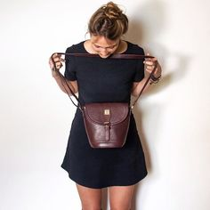 Accessories; the exclamation point of an outfit. #truth #handbags #handbag #fashion #style #standrews #handbagporn #potd #pretty #leatherbag #bag #trends #topknot #littleblackdress #goldcollection #myscaramanga