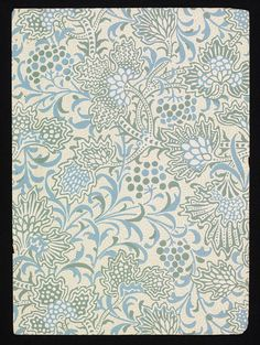 Image of wallpaper, by lewis foreman day. england, century by V&A Images Chinoiserie, Textile Pattern Design, Fabric Design, Paisley, Art Nouveau, Wave Pattern, Surface Pattern, Art And Craft Design, Textiles