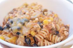 mexican pasta. by rachelgriffith, via Flickr