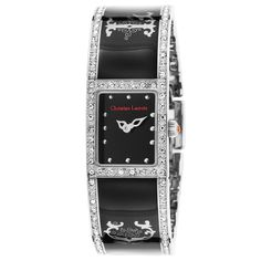 Christian Lacroix Mineral//Stainless Steel Watch, Women's