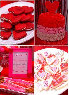Valentines Day Cakes, Valentine Desserts, Valentine Cookies, Birthday Cookies, Happy Valentines Day, Baby First Birthday, 1st Birthday Parties, Birthday Ideas, Lush Cake