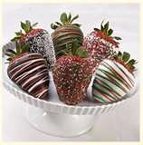 Shari's Berries - yes please! TJ got me some of these last week. They are killer :)