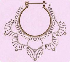 Bijoux et leurs grilles gratuites ! - Fleurs et Applications au Crochet