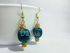 A beautiful and casual and occasional wear silk thread jewellery.