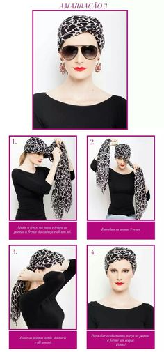 How to tie a turban Head Turban, Turban Hijab, Head Scarf Tying, Head Wrap Scarf, Head Scarf Styles, Hair Cover, Turban Style, Scarf Hairstyles, Fashion Tips For Women